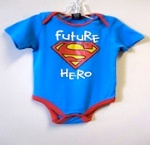 Superman Onesie Bodysuit