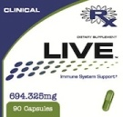 Live Clinical Nutritional Supplement