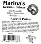 2787 - Marina'sGermanBakeryPastry