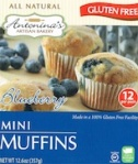 Gluten Free Blueberry Mini Muffin