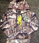 Browning Youth Buckmark Hoodie Sweatshirt