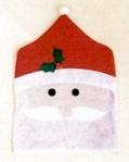Santa Face Chair Cover