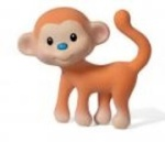 Go Ga Ga Squeeze Teethe Monkey Toy