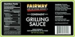Fairway Condiment Grilling Sauce