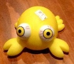 Child's Plastic Toy Crab