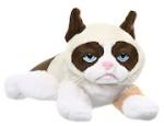 Ganz Grumpy Cat Stuffed Animal Toy