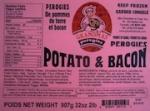 Grandma's Potato Bacon Perogie