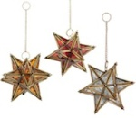 Pier 1 Imports Hanging Glass Star Lantern
