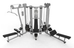 Magnum and Matrix Fitness Training Towers
