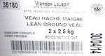 Viandes Lauzon Lean Ground Veal