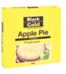 Black and Gold Apple Pie
