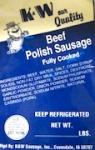 K & W Sausage Product Recall [US]