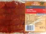 Woolworths Select Spicy BBQ Chicken Kebab Recall [Australia]