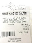 Farquhar's Orchards Fine Foods Salmon Recall [Canada]