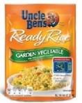 Uncle Ben's Ready Rice Garden Vegetable Recall [US]