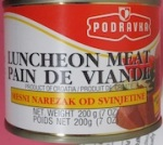 Podravka Luncheon Meat Recall [Canada]