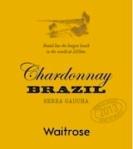 Waitrose Brazilian Chardonnay Recall [UK]