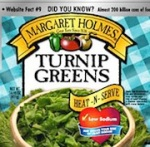 Margaret Holmes Turnip & Mixed Greens Recall [US]