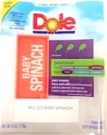 Dole brand Spinach Recall [US]