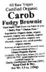 Glaser Organic Carob Powder Recall [US]