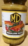 MD Sinhalese Pickle Sauce Recall [Canada]