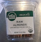 Whole Foods Market Almond Recall [US]