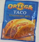 Ortega brand Taco Seasoning Mix Recall Expands [Canada]
