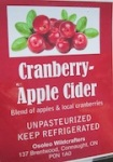 Cranberry-Apple Cider Recall Expands [Canada]