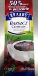 Krakus brand Red Borscht Soup Recall [Canada]