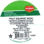 Del Monte Fresh Cut Fruit Recall [US]