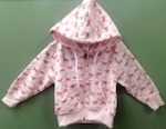 Kiddie Korral Hooded Pink Sweatshirt Recall [US]