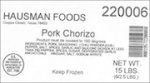 Hausman Barbacoa and Pork Chorizo Recall [US]