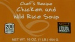 Market Chef's Recipe Chicken and Wild Rice Soup Recall [US]
