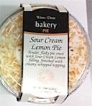 Winn-Dixie Sour Cream Lemon Pie Recall [US]
