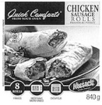 Nossack Chicken Sausage Roll Recall [Canada]