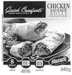 Nossack Chicken Sausage Roll Recall [Canada]