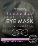 Love & Beauty by Forever 21 Lavender Anti-Aging Eye Masks