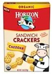 Horizon Cheddar Sandwich Cracker Recall [US]