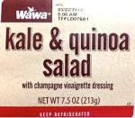 Taylor Farms Kale & Quinoa Salad Recall [US]