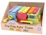 Mirari Zig-Zag Xylo Toy Train Recall [Canada]