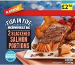 Iceland Blackened Salmon Recall [UK]