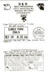B & R Meat Pork Product Recall [US]