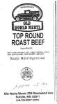 Old World Meats Roast Beef Recall [US]
