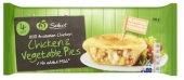 Woolworths Chicken & Vegetable Pie Recall [Australia]