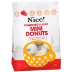Nice! Powdered Sugar Mini Donut Recall [US]