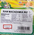 Natural Grocers Macadamia Nut Recall Expands [US]