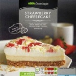 Asda Chosen by You Strawberry Cheesecake Recall [UK]