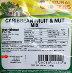 Natural Grocers brand Caribbean Nut & Fruit Mix Recall [US]