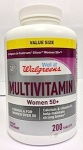 Walgreens Women 50+ Multivitamin Recall [US]