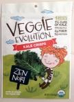 Veggie Evolution Kale Crisps Zen Nori Recall [US]